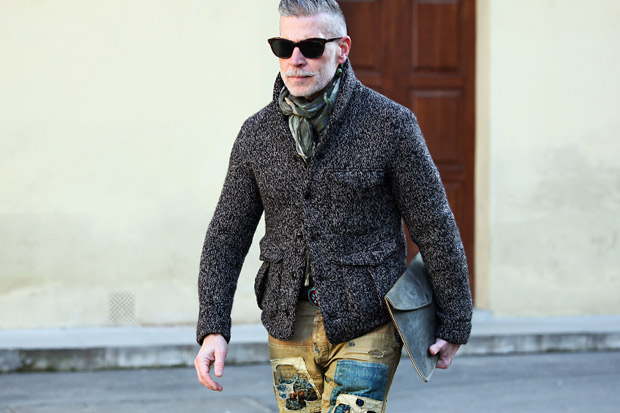 2012 Pitti Uomo Street Style - Day 2