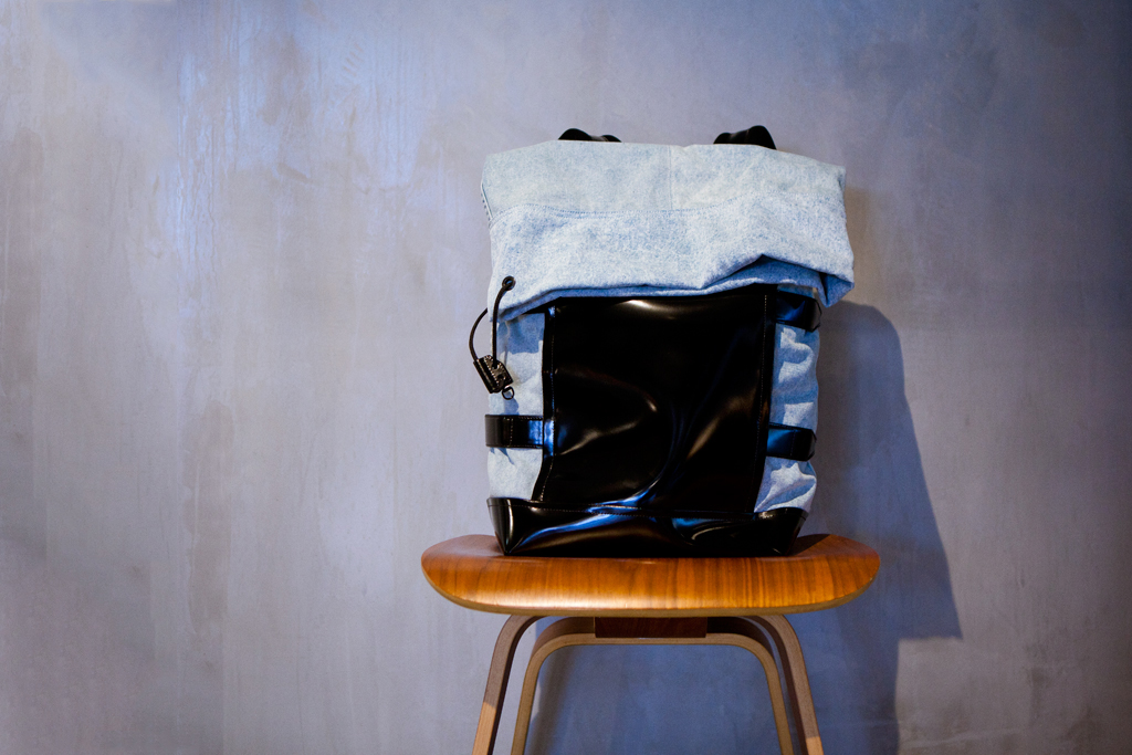 3.1 Phillip Lim 2012 Spring/Summer Washed Denim Backpack