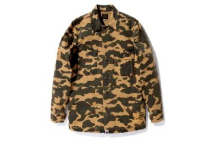 A Bathing Ape 1ST CAMO ARMY SHIRT