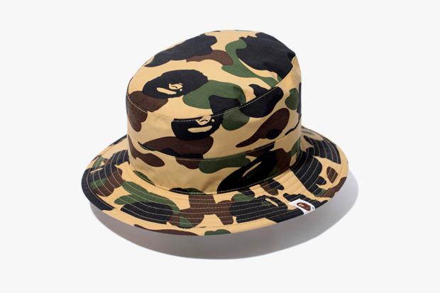 a bathing ape 1st camo gore tex boonie hat