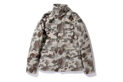 A Bathing Ape 1ST CAMO GRADATION FIELD JACKET