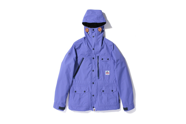 a bathing ape gore tex paclite mountain park