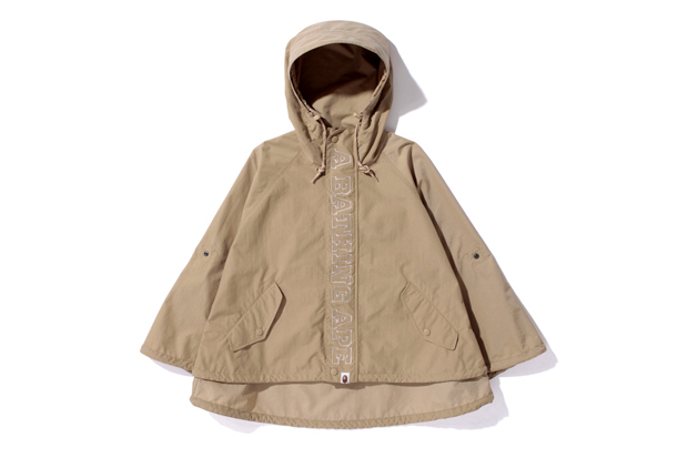 A Bathing Ape NYLON PONCHO