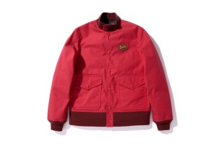 A Bathing Ape OILED CLOTH CLASSIC SPORT JACKET