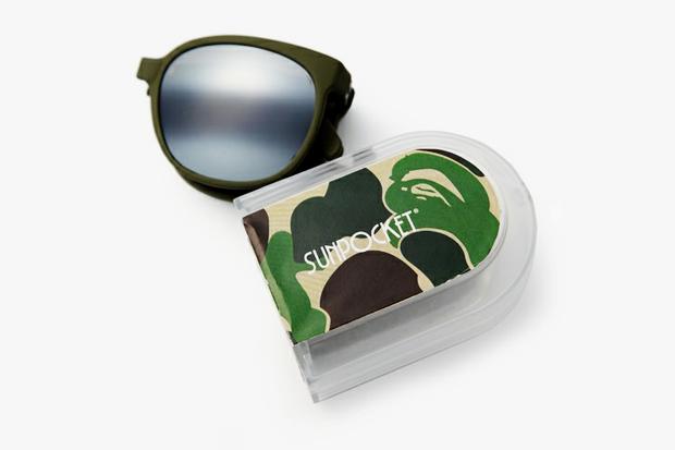 A Bathing Ape x Sunpocket Sunglasses