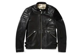 Acne Oliver Leather & Suede Biker Jacket
