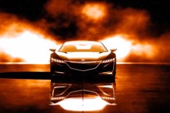 Acura NSX Concept in Gran Turismo 5