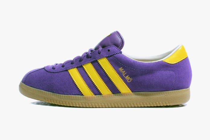 adidas Originals 2012 Spring Malmö Purple/Yellow