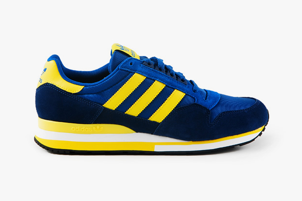 adidas originals 2012 spring zx 500 blueyellow