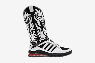 adidas Originals by Originals Jeremy Scott JS Mega Softcell Cowboy Boots