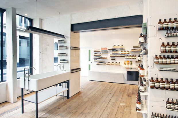 Aesop London Store Opening