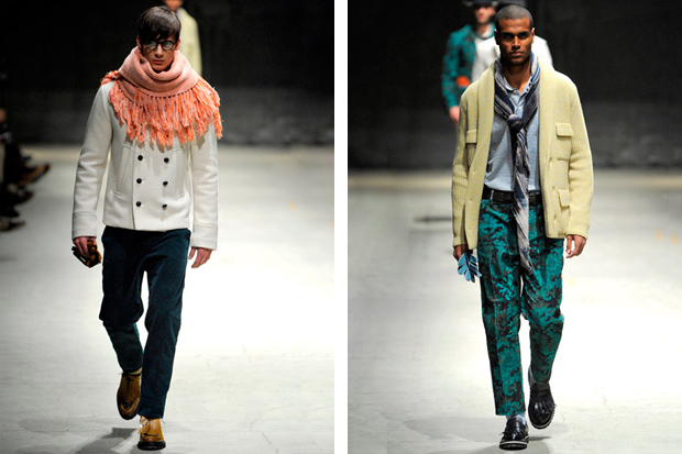 Andrea Pompilio 2012 Fall/Winter Collection