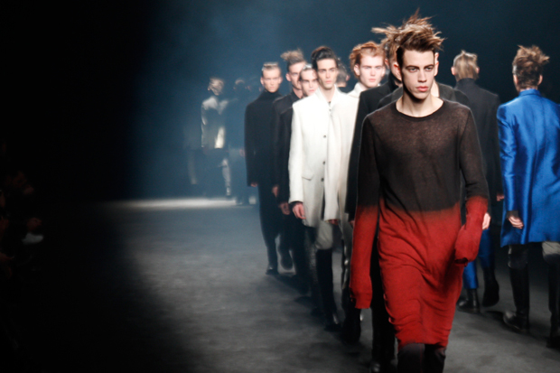 Ann Demeulemeester 2012 Fall/Winter Collection