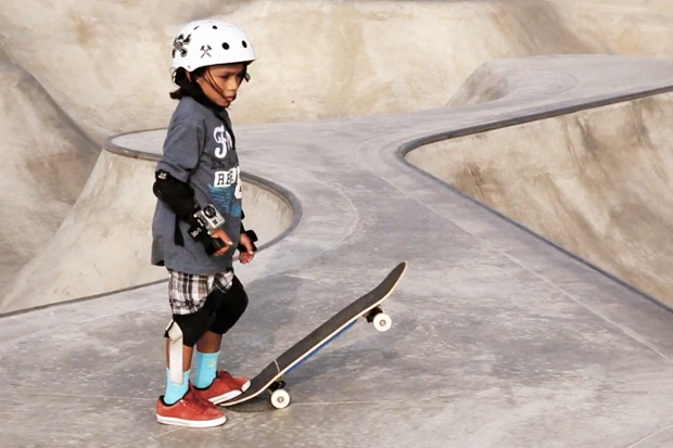 Asher Bradshaw: 7-Year-Old Skater