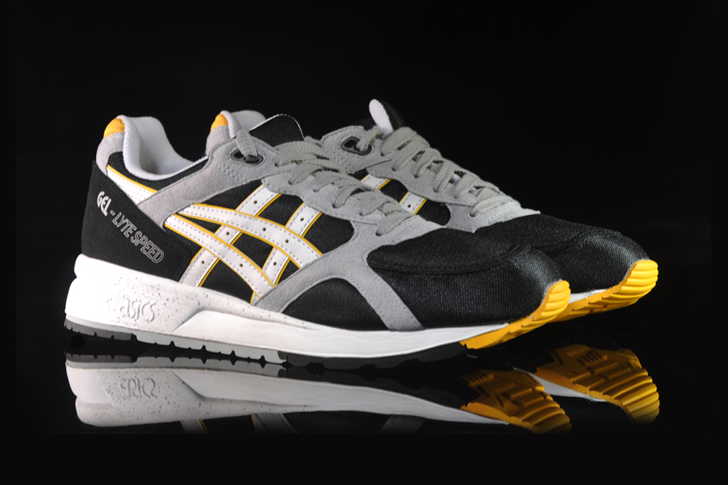 ASICS Gel Lyte Speed Black/White/Yellow