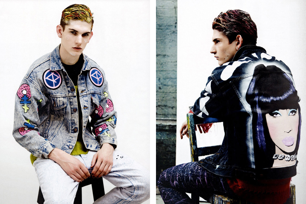 attitude magazine ten jackets by ten artists editorial