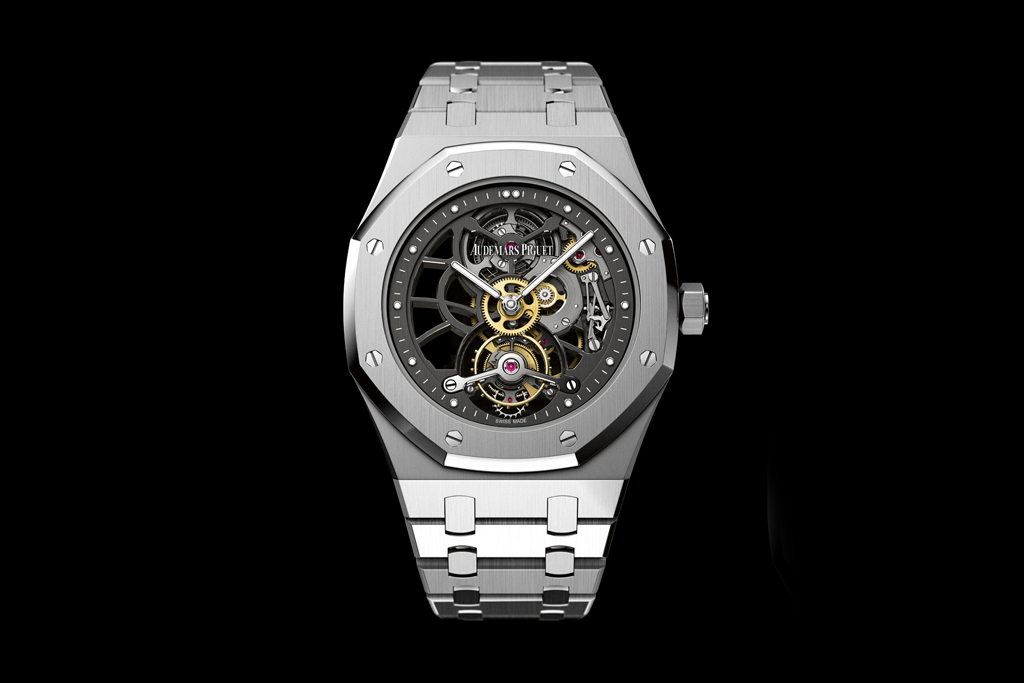 Audemars Piguet 40th Anniversary Royal Oak Openworked Extra-Thin Tourbillon