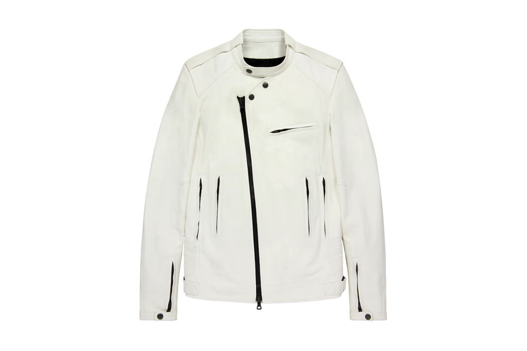 Balmain 2012 Spring/Summer Leather Biker Jacket