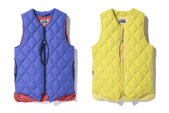A Bathing Ape PERTEX NYLON DOWN VEST