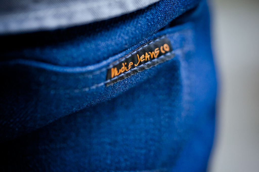 barneys nyc x nudie jeans post recycle dry denim
