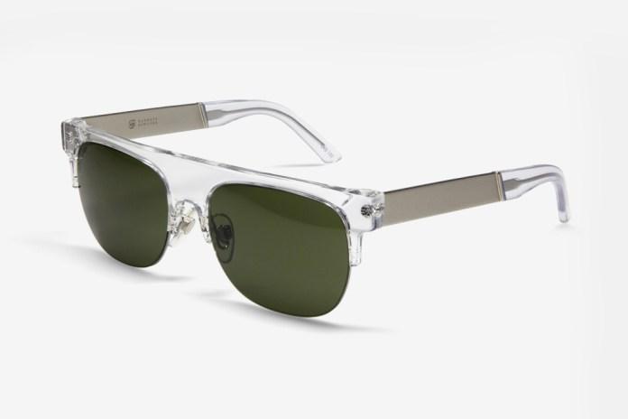 Barneys NYC x SUPER Evergreen Sunglasses