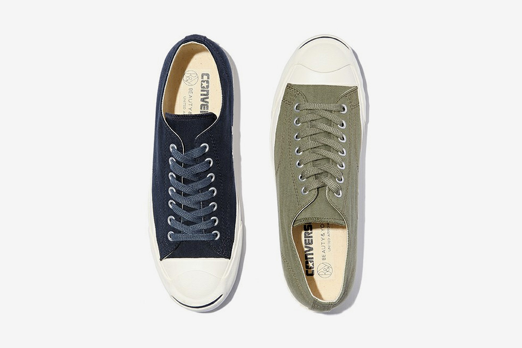 beauty youth x converse jack purcell