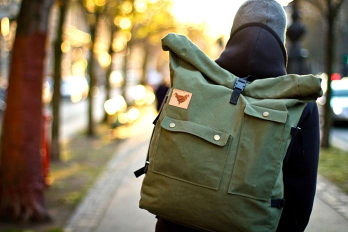 Blind Chic Rolltop Backpack