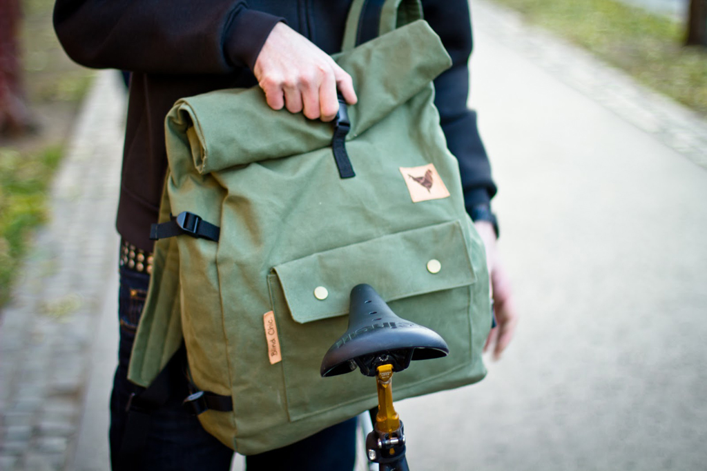 Blind Chic Rolltop Backpack