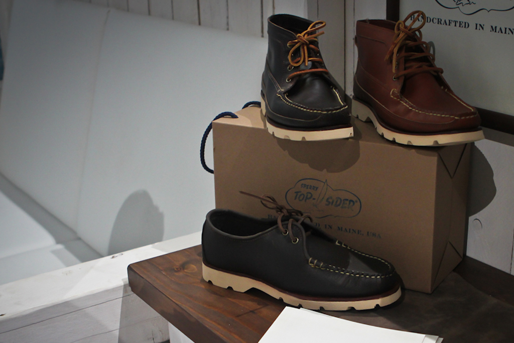 bread butter sperry top sider 2012 fall winter collection preview