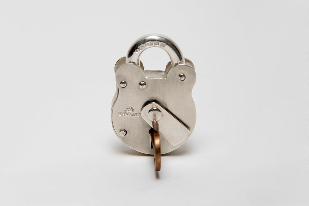 bunney silver padlock
