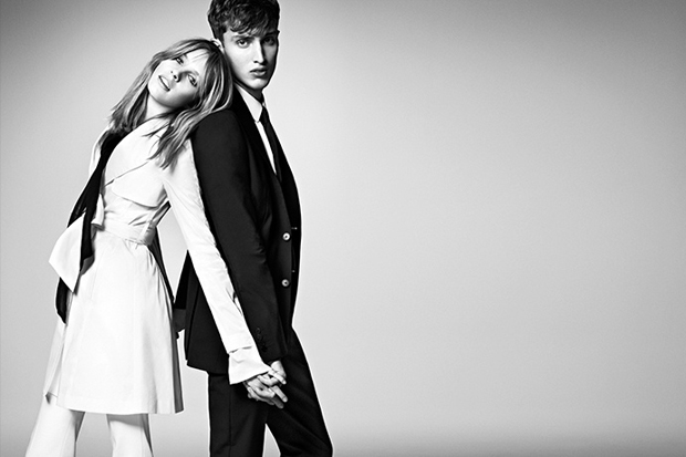 burberry black label 2012 springsummer collection