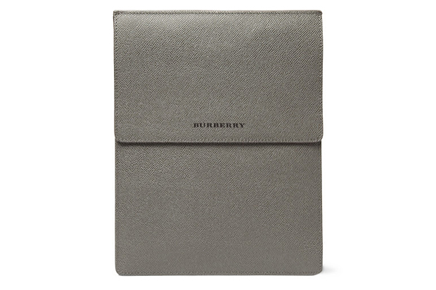 Burberry London Cross Grain Leather iPad Case
