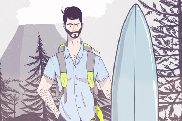 Burkman Bros. 2012 Spring/Summer Illustrated Lookbook
