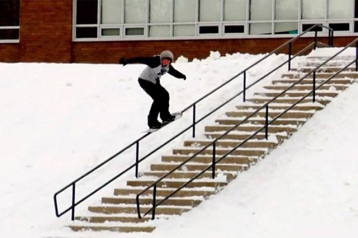 Burton: Snow Porn - Alex Andrews