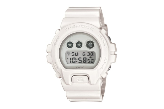 Casio G-Shock DW-6900WW Basic White Preview