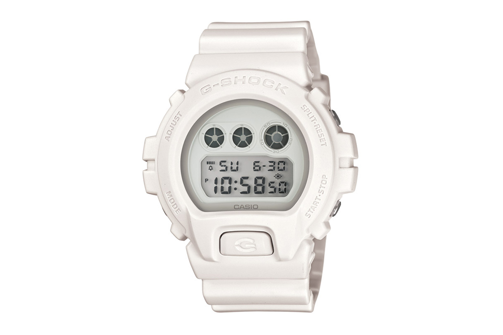 Casio G-Shock DW-6900WW Basic White Preview