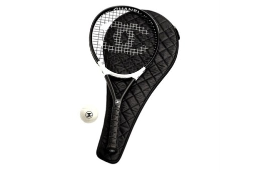 Chanel French Cane & Tennis Racket Set