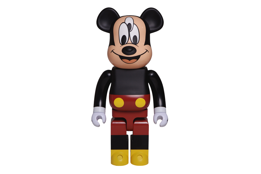CLOT & Disney x Medicom Toy 3-Eyed Mickey Bearbrick 1000%