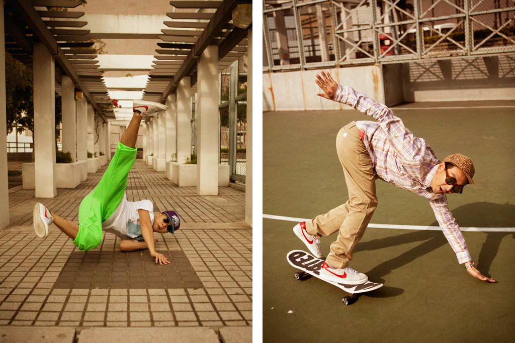 CLOT x Nike Tennis Classic Suede Lookbook