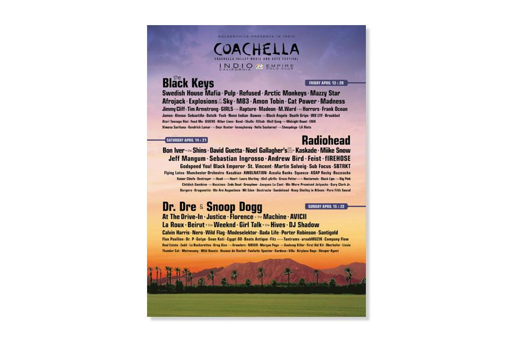 coachella announces 2012 lineup