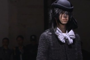 COMME des GARCONS HOMME PLUS 2012 Fall/Winter Collection Video
