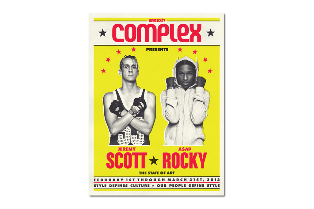 Complex: Interview with A$AP Rocky & Jeremy Scott