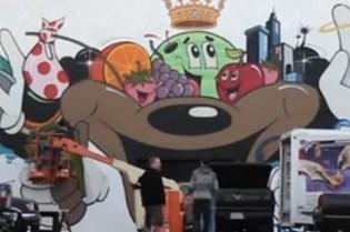 Dabs Myla: Christmas Mural 2011 Video