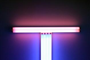 "Dan Flavin ""An installation"" Exhibition @ Galerie Perrotin Paris"
