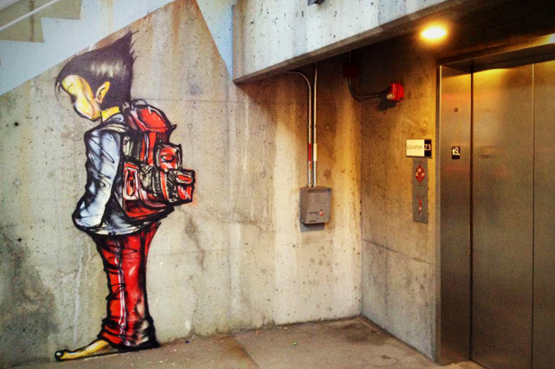 David Choe Immortalizes Beat Up Chicago Teenager