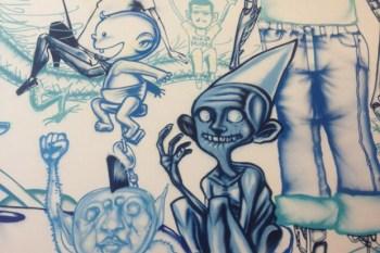 David Choe Paints New Facebook Headquarters