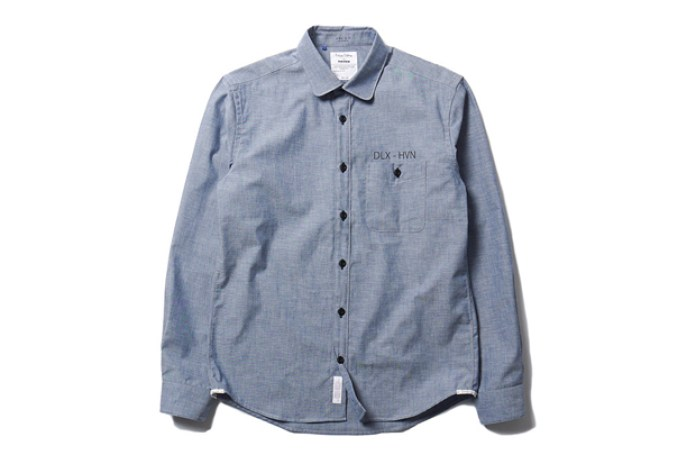 "Deluxe x HAVEN 5 Year Anniversary ""Hamilton"" Chambray Shirt"