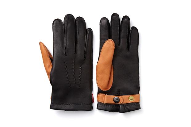 NEXUSVII x Dents Leather Gloves