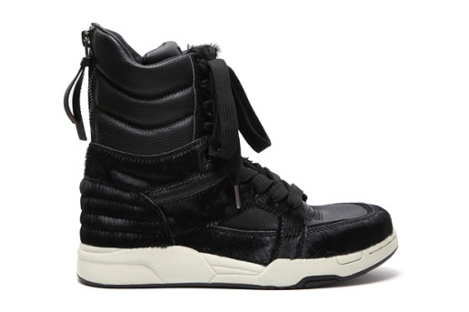 Diet Butcher Slim Skin Horse Hair High Top Sneaker