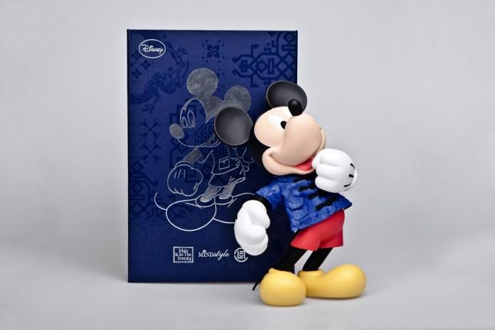 "Disney x CLOT x MINDstyle ""SILK"" Mickey"